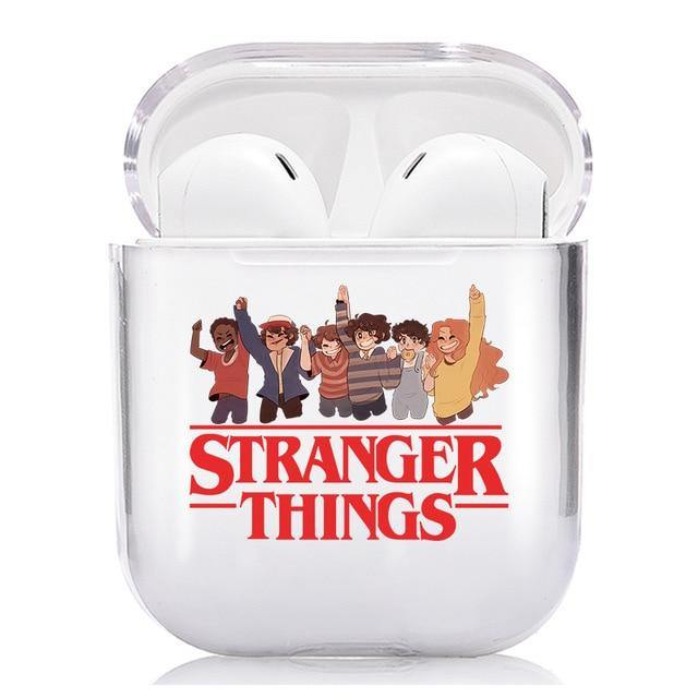 Coque Airpods Stranger Things red groupe | La Boutique Stranger Things