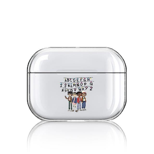 Coque Airpods Pro Stranger Things alphabet groupe | La Boutique Stranger Things