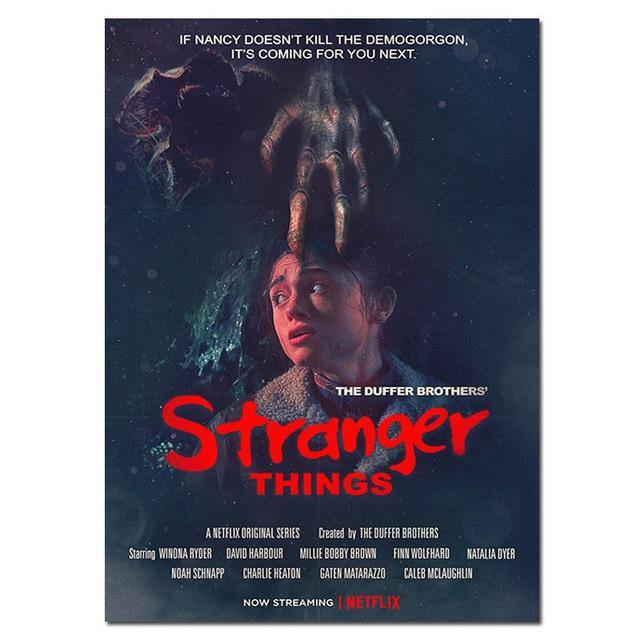 Poster Stranger Things doigt