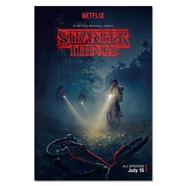 Poster Stranger Things S1 Bike
