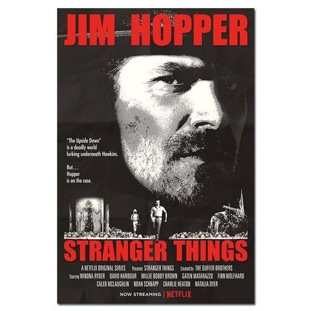 Poster Stranger Things Hopper