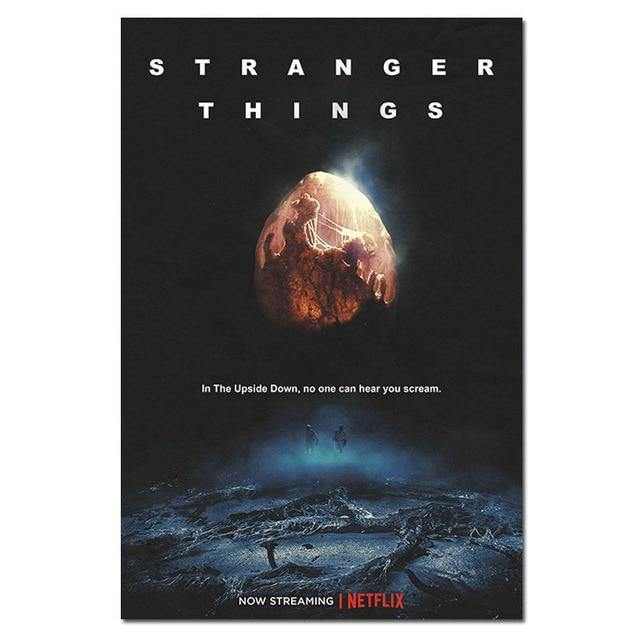 Poster Stranger Things Upside Down