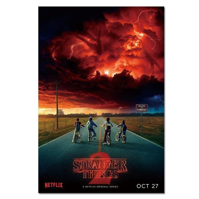 Poster Stranger Things S2 Road