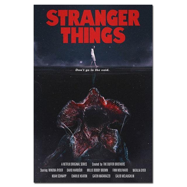 Poster Stranger Things Démogorgon