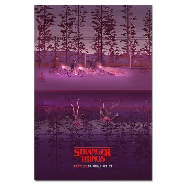 Poster Stranger Things Bike
