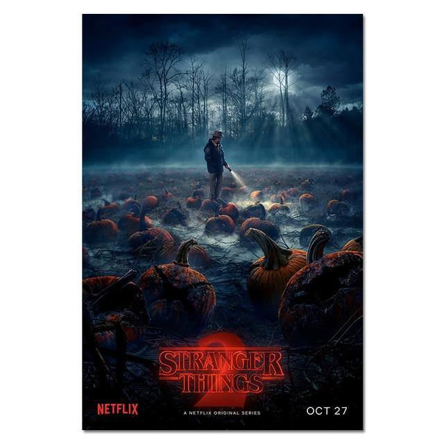 Poster Stranger Things S2 Pumpkin