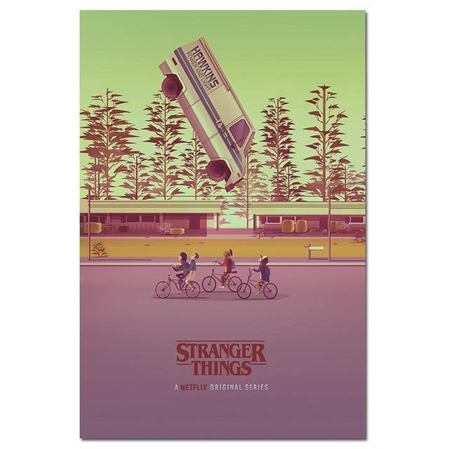 Poster Stranger Things van