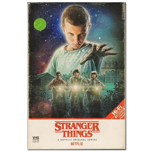 Poster Stranger Things VHS Hi-fi