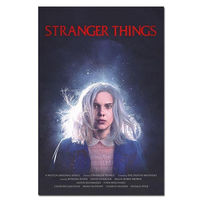 Poster Stranger Things Eleven
