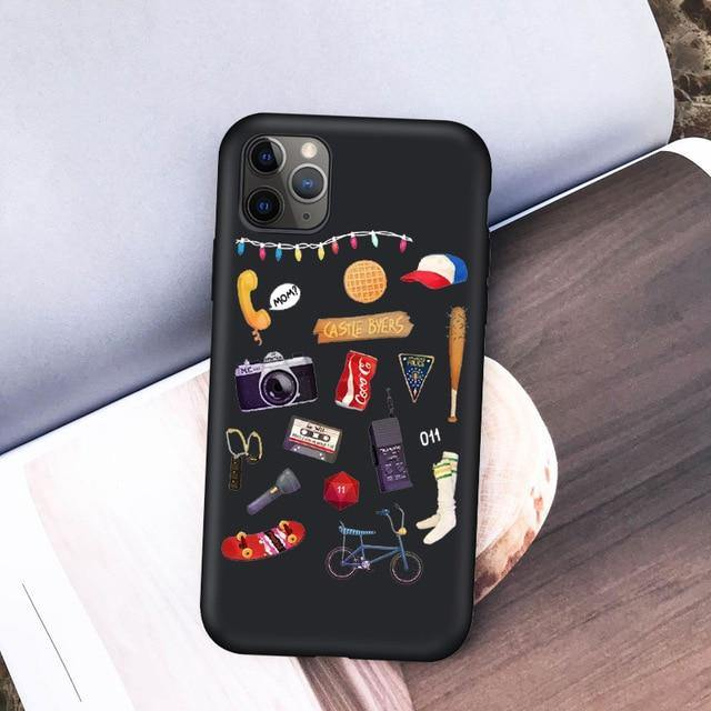 Coque iPhone Stranger Things objets | La Boutique Stranger Things