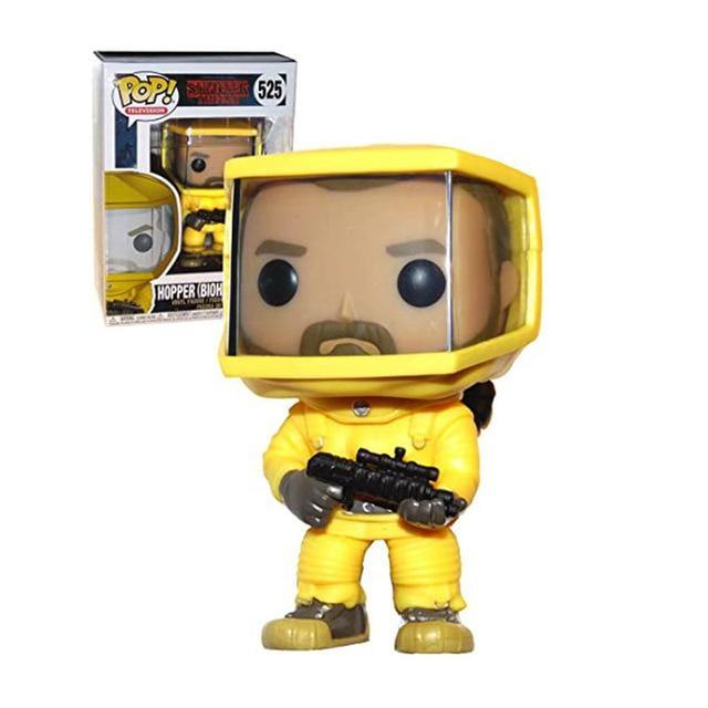 Figurine POP Stranger Things Hopper Combi