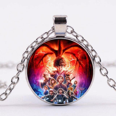 Collier Stranger Things personnages | La Boutique Stranger Things