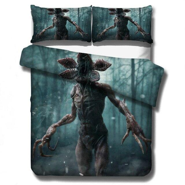 Housse de couette Stranger Things Demogorgon