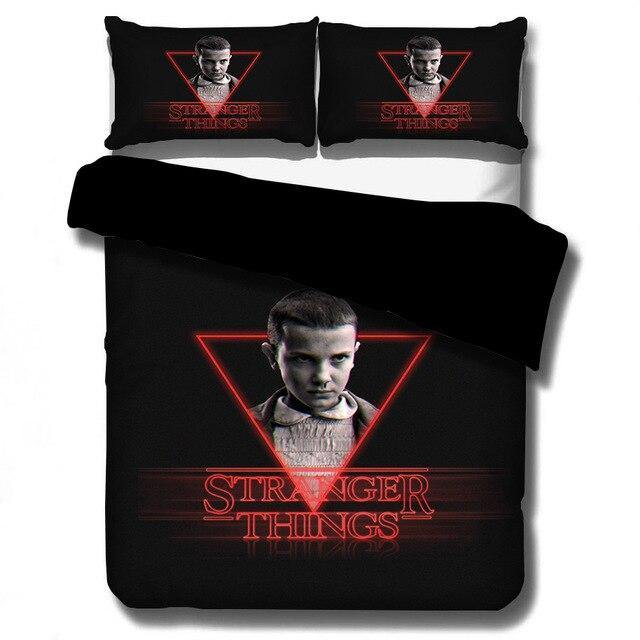 Housse de couette Stranger Things triangle Eleven