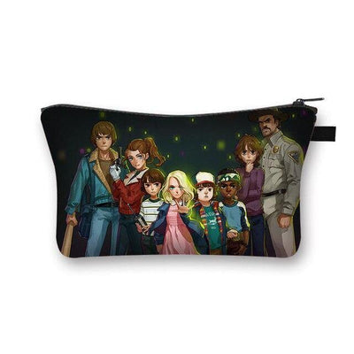 Trousse légère Stranger Things personnages dessins | La Boutique Stranger Things