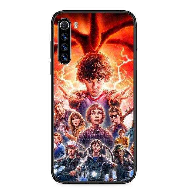 Coque Xiaomi Stranger Things personnages