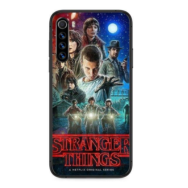 Coque Xiaomi Stranger Things groupe