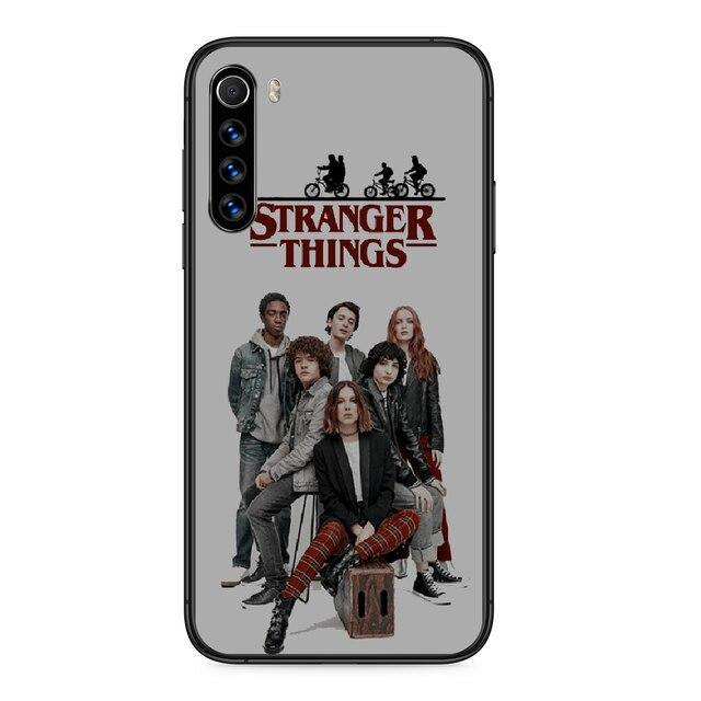 Coque Xiaomi Stranger Things White groupe