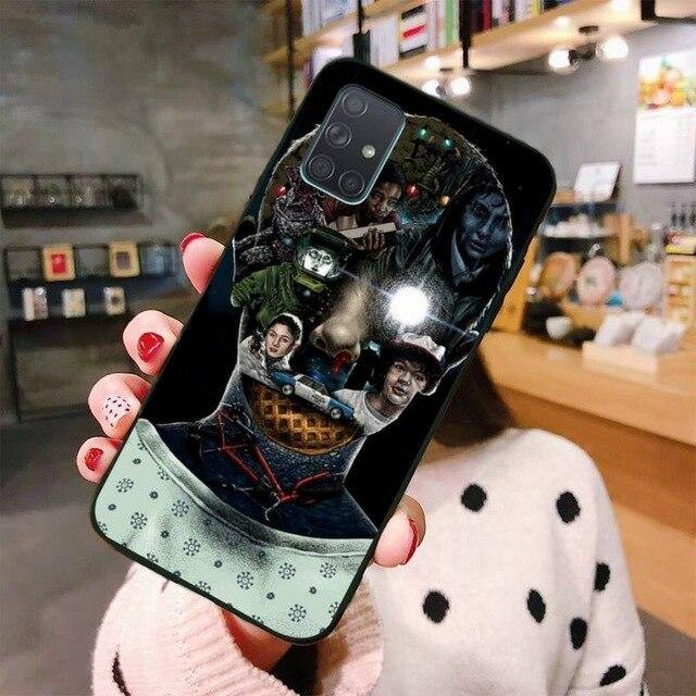 Coque Samsung Stranger Things visage