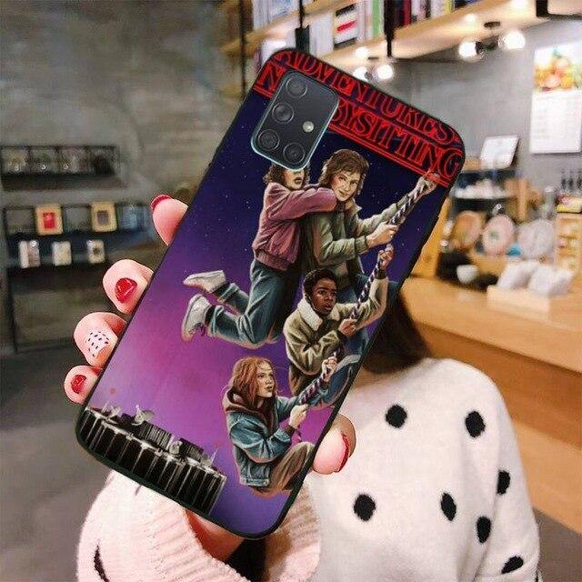 Coque Samsung Stranger Things corde