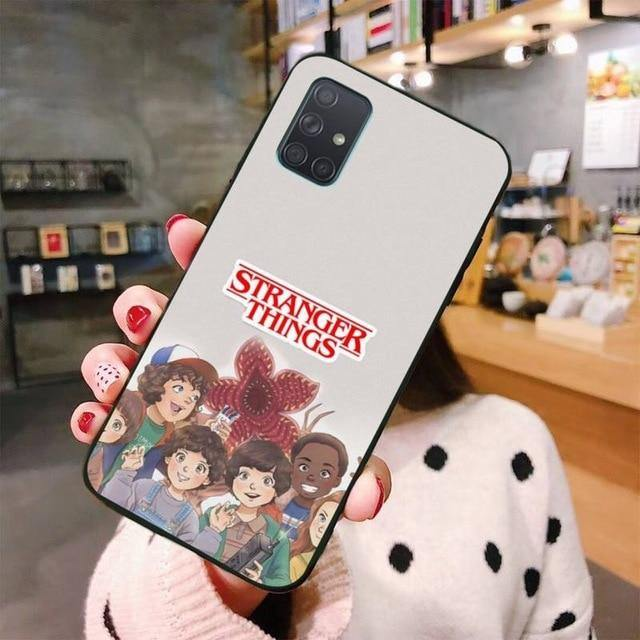 Coque Samsung Stranger Things personnages
