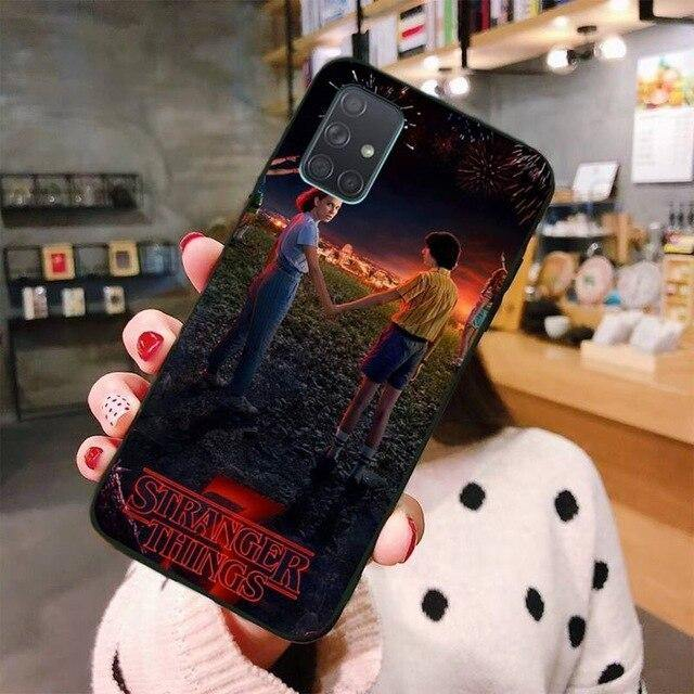 Coque Samsung Stranger Things Eleven & Mike