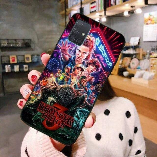 Coque Samsung Stranger Things affiche