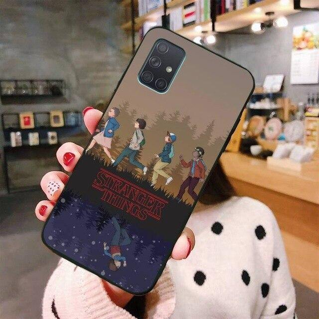 Coque Samsung Stranger Things dessin