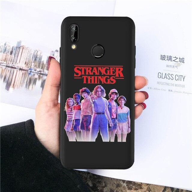 Coque Huawei Stranger Things groupe