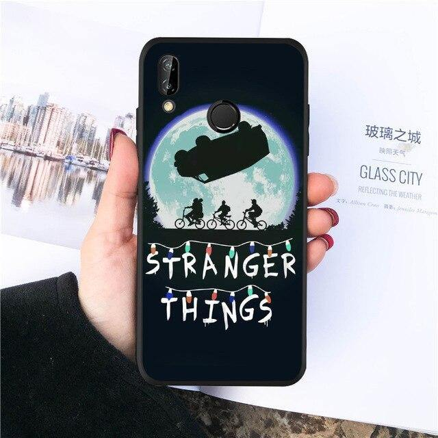 Coque Huawei Stranger Things Moon