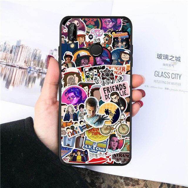 Coque Huawei Stranger Things stickers