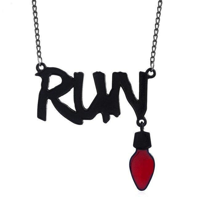 Collier Stranger Things Run lampe | La Boutique Stranger Things