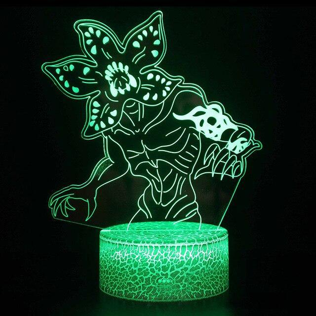 Lampe 3D Stranger Things Demogorgon