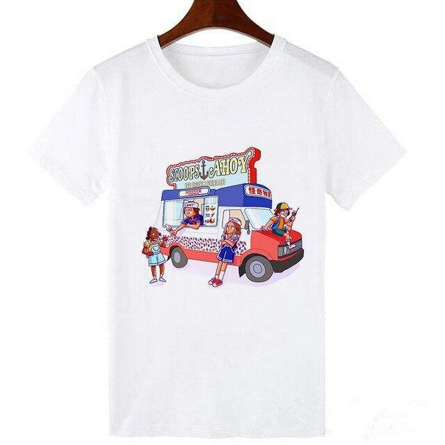 T-shirt Stranger Things camion Scoops Ahoy