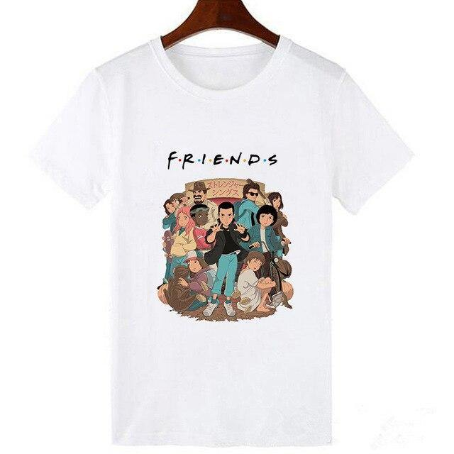 T-shirt Stranger Things Friends Parti