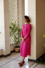 Load image into Gallery viewer, Pink Kurta Tunic Dress | NR
