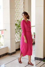 Load image into Gallery viewer, Pink Kurta Tunic Kurta Shirt Attire | NR