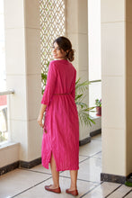 Load image into Gallery viewer, Pink Tunic Maxi Kurta Dress | NR