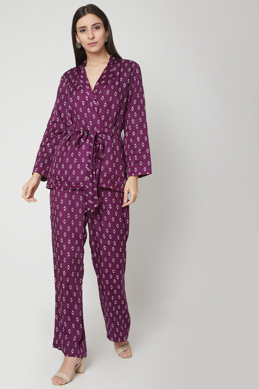 Purple Pantsuit | NR