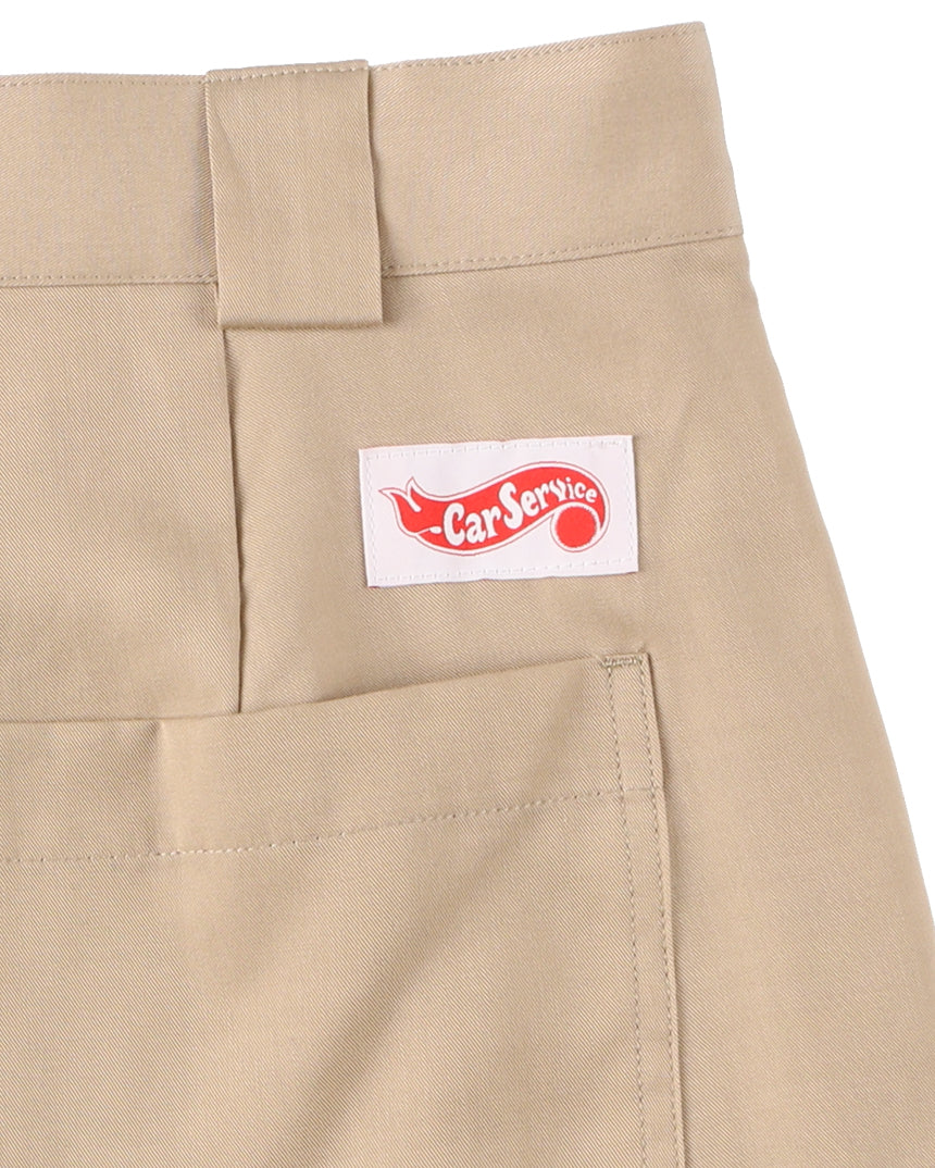 Checker Logo Work Pants