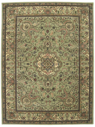 Nourison 2000 Light Green Area Rug 2005 LTG