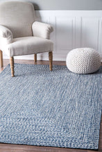 Load image into Gallery viewer, nuLOOM Blue Braided Lefebvre HJFV01D Area Rug