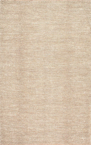 nuLOOM Hand Woven Dona Beige Area Rug