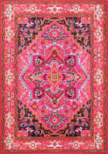 Load image into Gallery viewer, nuLOOM Machine Made Cordie Violet Pink Area Rug