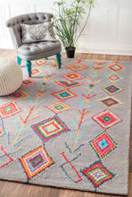 Load image into Gallery viewer, nuLOOM Grey Hand Tufted Belini MJSM18D Area Rug