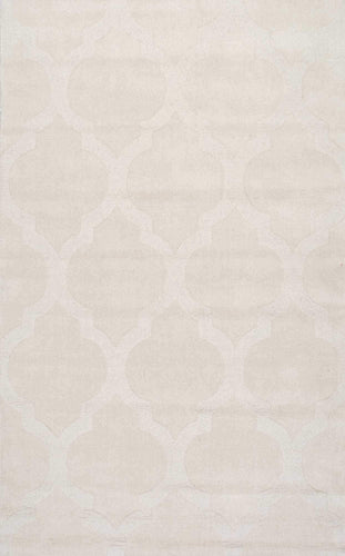 nuLOOM Hand Tufted Maybell Cream Area Rug