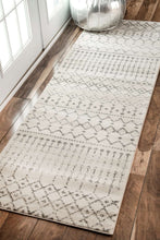 Load image into Gallery viewer, nuLOOM Grey Moroccan Blythe RZBD16A Area Rug