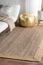 Load image into Gallery viewer, nuLOOM Hand Woven Eleonora Grey Area Rug