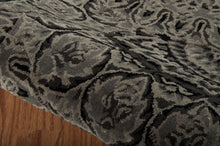 Load image into Gallery viewer, Nourison 2000 Black Grey Area Rug 2335 BLKGY