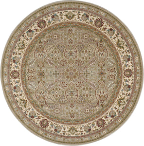 Kathy Ireland Antiquities American Jewel Cream Area Rug By Nourison ANT03 CREAM